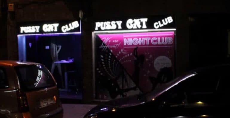 Strip clubs barcelona pussy cat